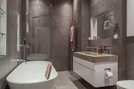 Free Standing Toilet Paper Holder by Bathroom Shower Room Glass Sliding Door Freestanding Tub Bathroom