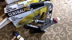harbor freight wood floor nailer stapler central pneumatic