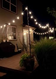 String Lights Patio Ideas by String Lights For Patio Ideas Home Design Ideas