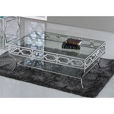 Steel And Glass Coffee Table Best Master Furniture Stainless Steel Glass Coffee Table Free