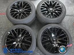 used ford mustang wheels 2015 ford mustang factory 19 black wheels tires oem rims 10036