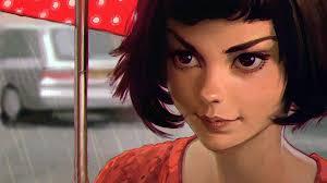 short hair sle women ilya kuvshinov brunette short hair face digital art