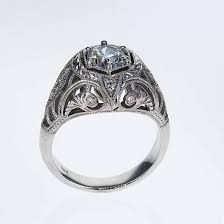 deco engagement ring deco platinum diamond engagement ring market diamonds