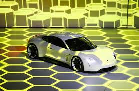 porsche mission e wheels porsche mission e electric car due 2019 business insider