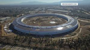 apple headquarters tour get a sneak peek via drone at apple u0027s new u0027spaceship u0027 campus