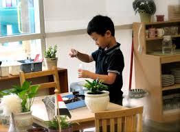 Table Setting Healthy Beginnings Montessori by The Dual Purpose Of Montessori Preschool Practical Life Activities