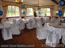 silver chair sashes wedding chair cover hire