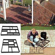 Paver Mold Kit by Homemade Paver Forms These Modular Modern Concrete Pavers Was