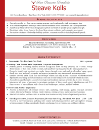 Accounting Resume Examples And Samples by Accounting Resume Examples Best Accountant Templates