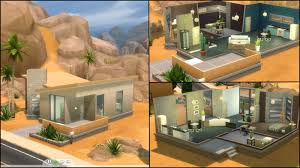 modern house floor plans with pictures home design modern house floor plans sims 4 modern compact
