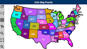 United States Map Test by Usa Map Puzzle Android Apps On Google Play