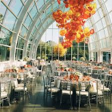 wedding venues in seattle vsco wedding reception at chihuly glass garden in seattle
