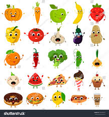 animated food flat icon set stock vector 538128355 shutterstock