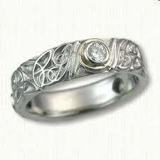 custom initial rings 113 best monogram personalized wedding bands images on