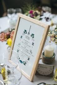 idee menu mariage des idées originales pour présenter votre menu de mariage