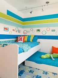 kinderzimmer junge streichen blue coloured shared room shared room