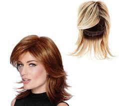 updated flip hairdo hairdo modern mid length modern flip page 1 qvc com