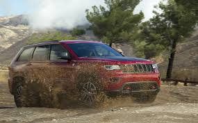 jeep trailhawk lifted puddle jumper 2017 jeep grand cherokee trailhawk la times