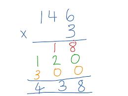 ladder multiplication math showme