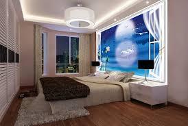 chambre en 3d papier peint 3d personnalisé paysage fantaisie romantique cygnes
