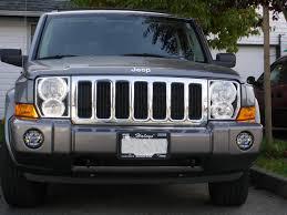 jeep commander black headlights headlight assy upgrade jeep commander forums jeep commander forum