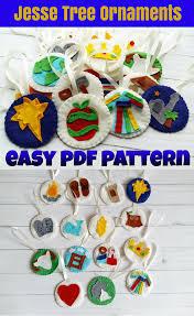 jesse tree ornaments pattern easy jesse tree pdf pattern