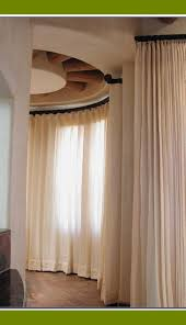 Tension Window Curtain Rods Decorating Curved Window Curtain Rod For Beautiful Bay Windows In