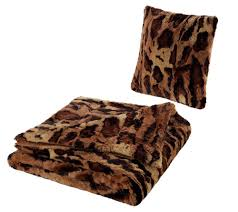 Cheetah Print Blanket Dennis Basso Oversized Animal Print Faux Fur Throw U0026 Pillow Set
