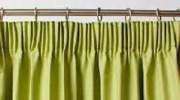 Look On Top Of The Curtain Drapes