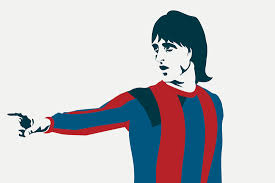 Football Wall Murals by Johan Cruyff Wallpaper Mural Murals Wallpaper
