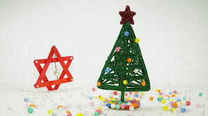 Homemade Christmas Tree by Diy Christmas Crafts How To Make Christmas Tree From Wool Yarn