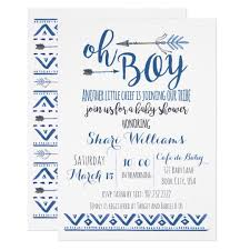 tribal baby shower invitations announcements zazzle
