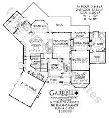 French Cottage Floor Plans Leyland Manor House Plan House Plans By Garrell Associates Inc
