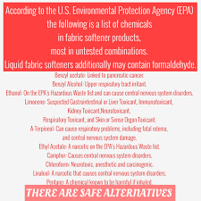 Toxicity Of Household Products by Dangers Of Fabric Softeners And Dryer Sheets Livinlovinfarmin