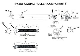 Camper Awnings Replacement Fabric Patio Awning Roller Rv Awning Replacement Fabric Dometic Camper