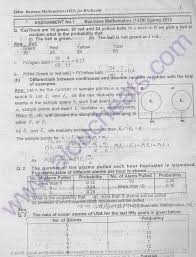 100 pdf business mathematical statistics solution b com part1