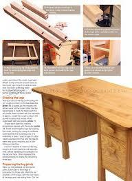 desk plans twin pedestal desk plans u2022 woodarchivist