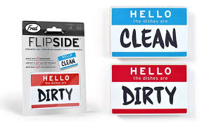 Dirty Clean Dishwasher Magnet Fred And Friends Flipside Dishwasher Magnets Groupon