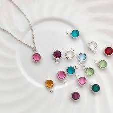children s birthstone necklace children s birthstone necklace flower girl necklace gold