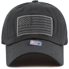 Embroidered American Flag Tactical Operator Baseball Cap