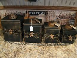 primitive kitchen canisters made these https www pages primitive country
