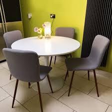 amazon com set of 4 eames dining chairs coavas fabric cushion