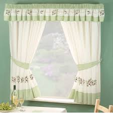 cherry curtains retro kitchen curtain design