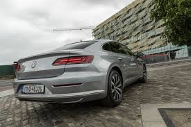 volkswagen arteon rear bob flavin volkswagen arteon is the long distance cruiser to beat