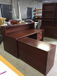 Timber Reception Desk Reception Desk Miscellaneous Goods Gumtree Australia Free