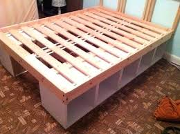 Low Platform Bed Frame Diy by Twin Bed Low To Ground Smartwedding Co