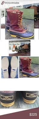 s bean boots size 9 l l bean boots mahogany bean boot gorgeous mohagany l l