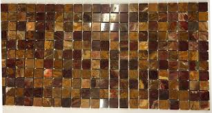 onyx 1x1 polished mosaics meshed on 12 x 12 tiles for