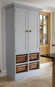 Wood Storage Cabinets Kitchen Wood Pantry Cabinet 2 Door Cabinet Large Storage