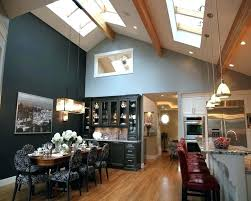 Pendant Lighting For Recessed Lights Recessed Lighting Vaulted Ceiling Vaulted Ceiling Lighting Kitchen